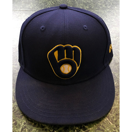 Photo of #5 2020 Team-Issued Milwaukee Brewers Cap