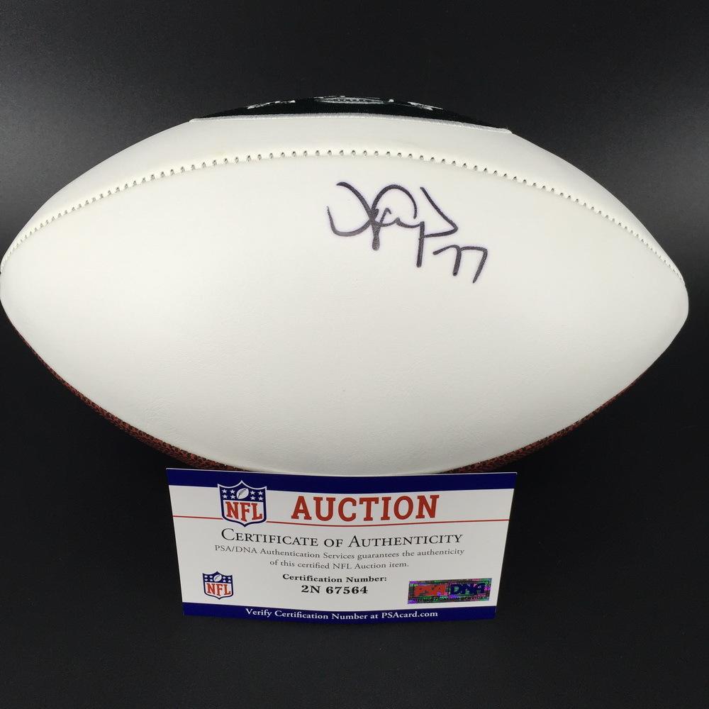 Jets - James Carpenter Signed Panel Ball w/ Jets Logo