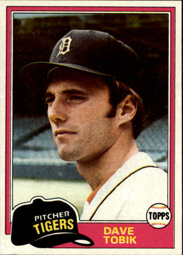 Photo of 1981 Topps #102 Dave Tobik