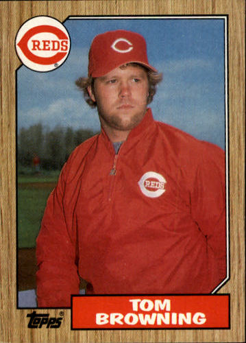 Photo of 1987 Topps #65 Tom Browning