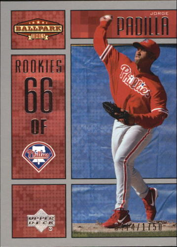 Photo of 2002 Upper Deck Ballpark Idols #231 Jorge Padilla ROO RC