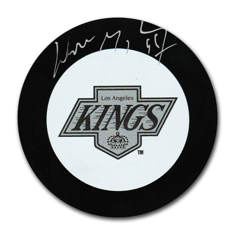 Wayne Gretzky Autographed Los Angeles Kings Puck