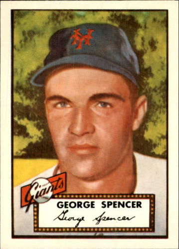 Photo of 1983 Topps 1952 Reprint #346 George Spencer