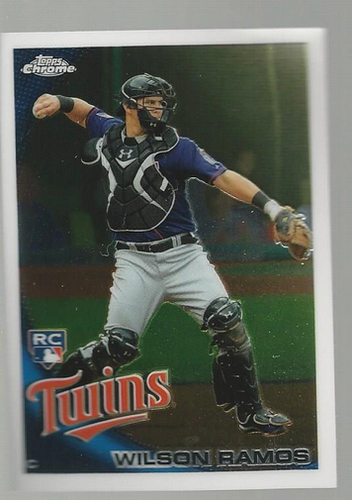 Photo of 2010 Topps Chrome #189 Wilson Ramos Rookie Card