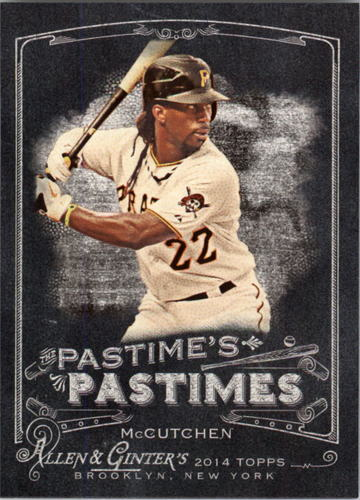 Photo of 2014 Topps Allen and Ginter The Pastime's Pastime #PPAM Andrew McCutchen