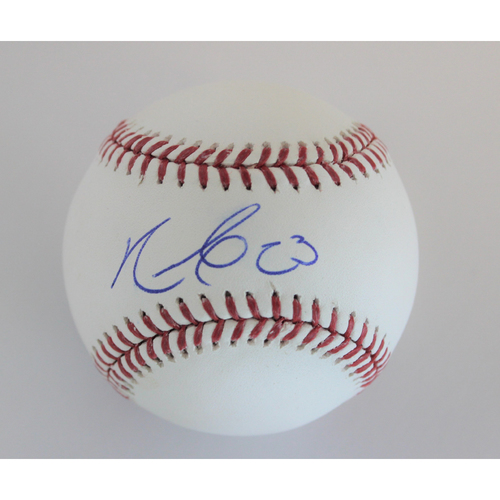 Photo of Nelson Cruz Autographed Baseball