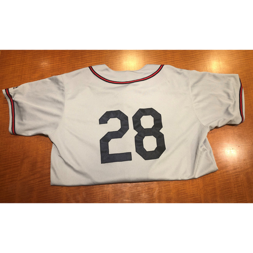Photo of Game-Used Uniform: 6/1/19 & 6/7/19 Pittsburgh Crawford Uniform Set  - Joey Cora