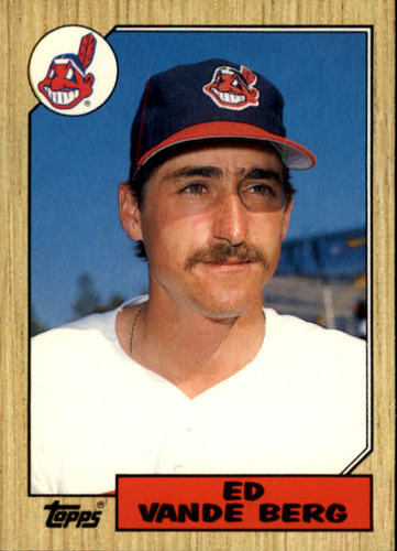 Photo of 1987 Topps Traded #123T Ed VandeBerg