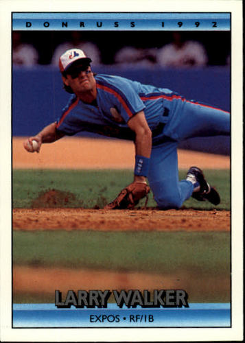 Photo of 1992 Donruss #259 Larry Walker