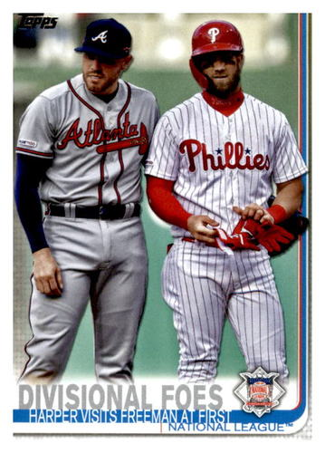 Photo of 2019 Topps Update #US260 Freddie Freeman/Bryce Harper