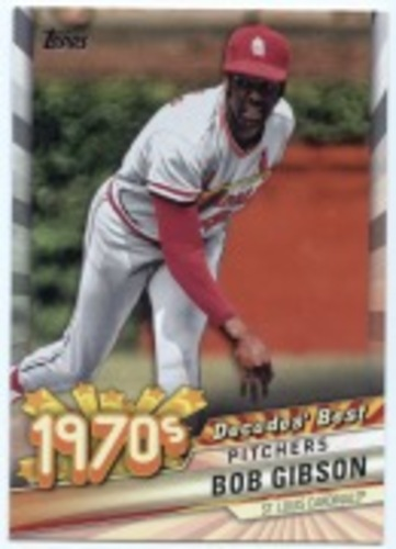 Photo of 2020 Topps Decades' Best #DB31 Bob Gibson