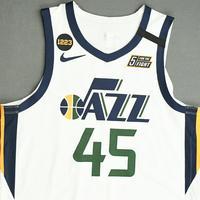 Donovan Mitchell - Utah Jazz - Game-Worn Association Edition Jersey - Worn 2 Games - 2019-20 NBA Season Restart with Social Justice Message