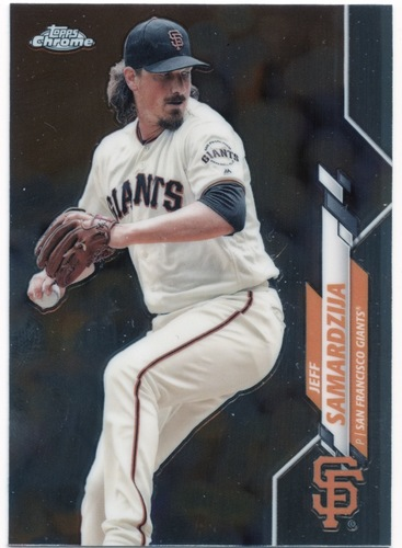 Photo of 2020 Topps Chrome #197 Jeff Samardzija