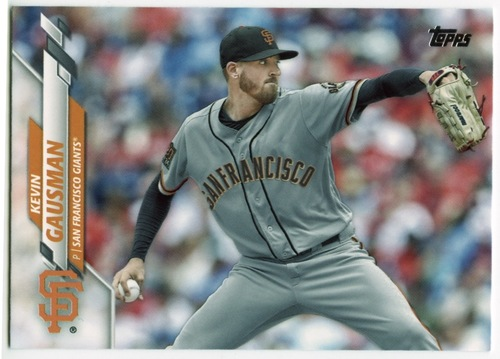 Photo of 2020 Topps #457 Kevin Gausman