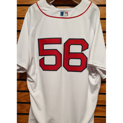 Photo of Zach Putnam #56 Team Issued Home White Jersey
