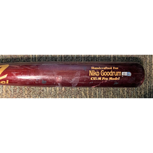 Photo of Niko Goodrum Detroit Tigers Team-Issued Bat (MLB AUTHENTICATED)