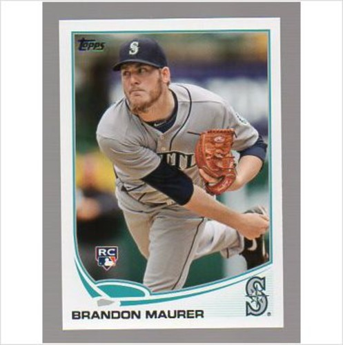 Photo of 2013 Topps #435 Brandon Maurer RC