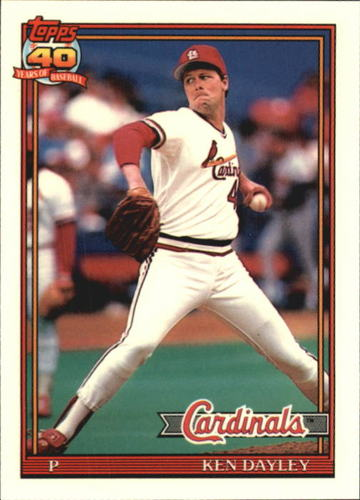 Photo of 1991 Topps Tiffany #41 Ken Dayley