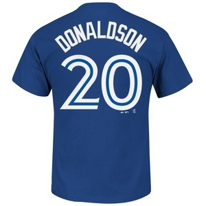Toronto Blue Jays Big & Tall Josh Donaldson Player T-Shirt by Majestic