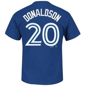 Toronto Blue Jays Big & Tall Josh Donaldson Player T-Shirt by Majestic