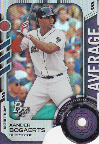 Photo of 2014 Bowman Platinum Toolsy Die Cuts  Xander Bogaerts