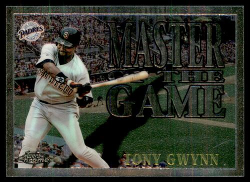 Photo of 1996 Topps Chrome Masters of the Game #12 Tony Gwynn