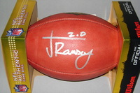 JAGUARS - JALEN RAMSEY SIGNED AUTHENTIC FOOTBALL