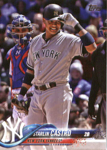 Photo of 2018 Topps #109 Starlin Castro