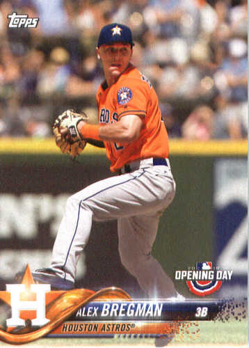 Photo of 2018 Topps Opening Day #53 Alex Bregman