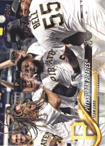 Photo of 2018 Topps #542 Pittsburgh Pirates