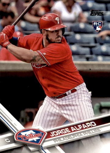Photo of 2017 Topps #569 Jorge Alfaro Rookie Card