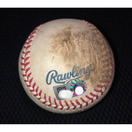 Photo of Game-Used Baseball from August 21, 2018: Michael Kopech MLB Debut