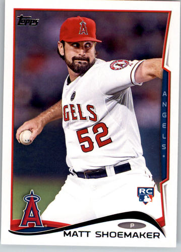 Photo of 2014 Topps #163 Matt Shoemaker RC