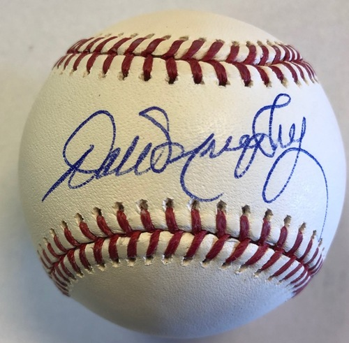 Photo of Dale Murphy Autographed Baseball