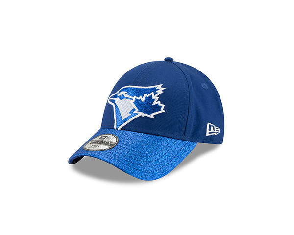 Toronto Blue Jays Child Shimmer Shine Royal Cap by New Era