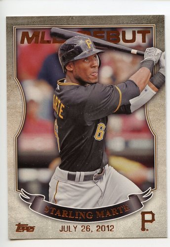 Photo of 2016 Topps MLB Debut Bronze #MLBD2-38 Starling Marte
