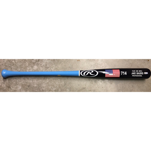 Photo of Team Issued Players Weekend Bat: Jake Bauers - 2018