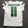 Crucial Catch - Jets Robby Anderson Game Used Jersey Size 38 (10/13/19)