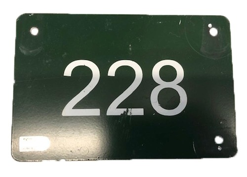 Photo of 12 Days of Auctions: Day 11 -- Wrigley Field Collection -- Aisle Marker 228