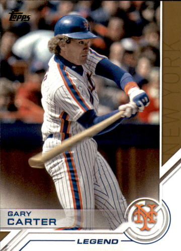 Photo of 2017 Topps Salute #S137 Gary Carter
