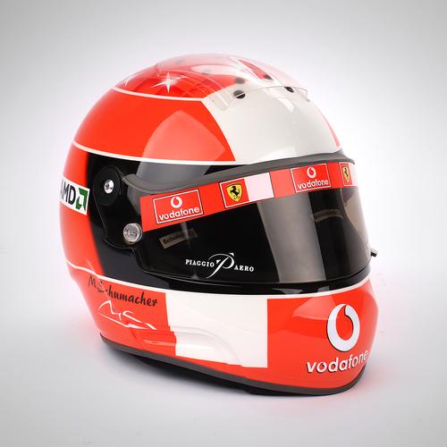 Photo of Michael Schumacher 2003 Replica Ferrari Helmet