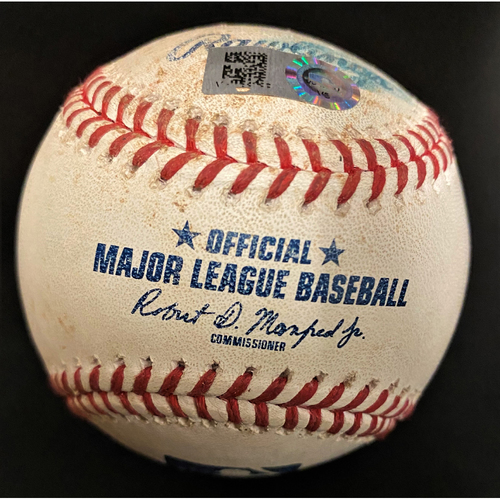 Photo of Game-Used Baseball:  Jonathan Schoop Detroit Tigers Single (MLB AUTHENTICATED)