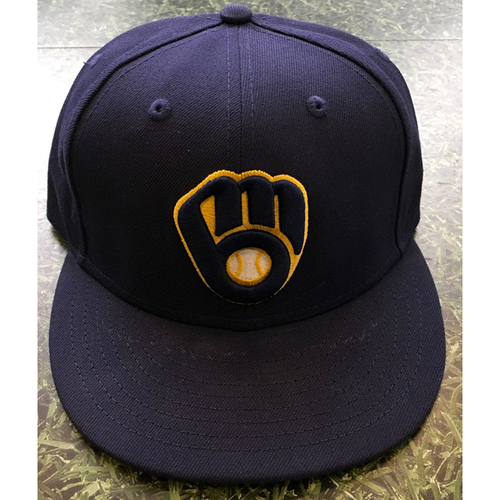 Photo of #16 2020 Team-Issued Milwaukee Brewers Cap