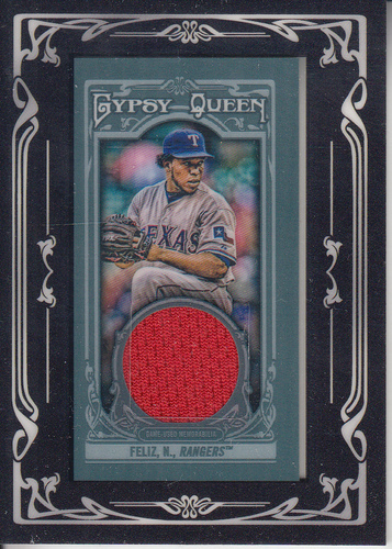 Photo of 2013 Topps Gypsy Queen Framed Mini Relics #NF Neftali Feliz