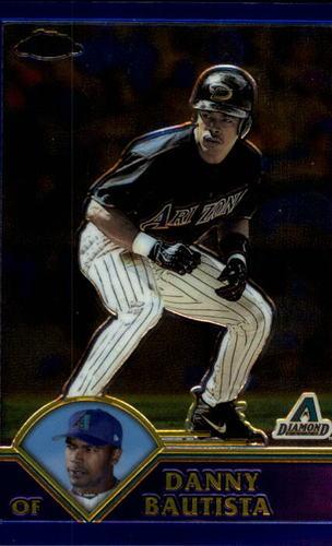 Photo of 2003 Topps Chrome #10 Danny Bautista