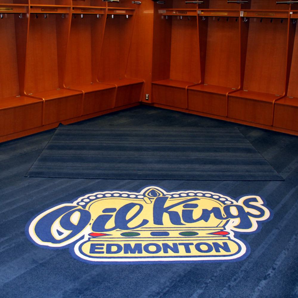 Locker Room Logo Carpet