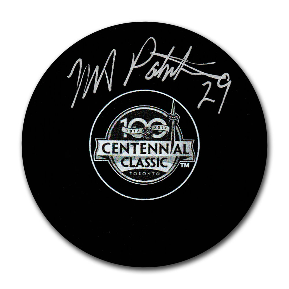 Mike Palmateer Autographed 2017 Centennial Classic Puck