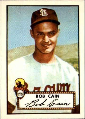 Photo of 1983 Topps 1952 Reprint #349 Bob Cain