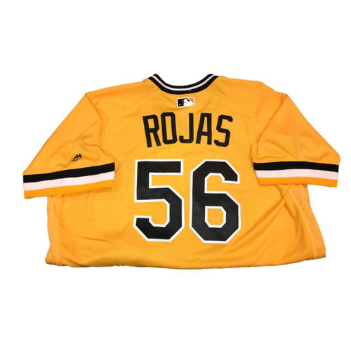 Photo of Euclides Rojas Game-Used Sunday Alternate Jersey