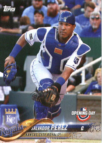 Photo of 2018 Topps Opening Day #56 Salvador Perez